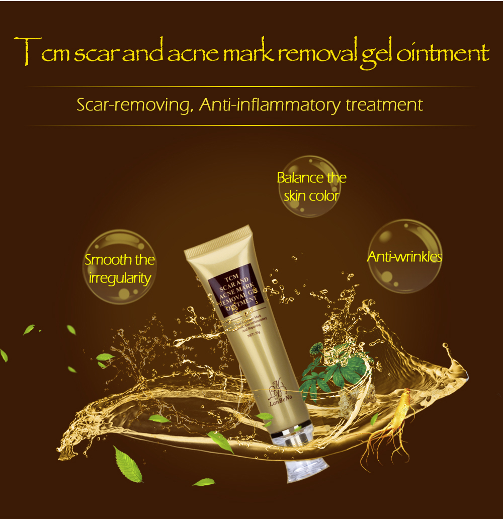 LANBENA Acne Scar Removal Cream Skin Repair Face Cream Acne Spots Acne Treatment Blackhead Whitening Cream Stretch Marks 30ml 3