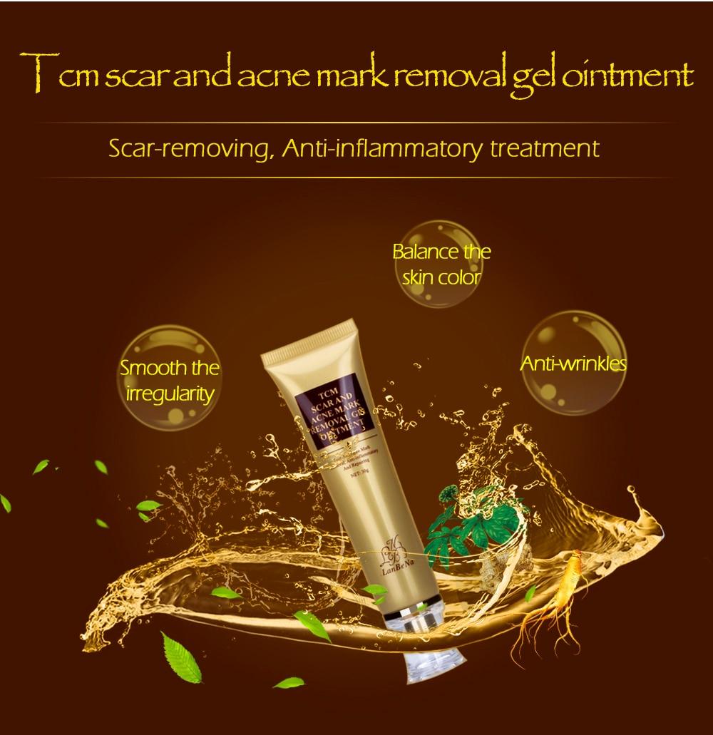 LANBENA Acne Scar Removal Cream Skin Repair Face Cream Acne Spots Acne Treatment Blackhead Whitening Cream Stretch Marks 30ml 3
