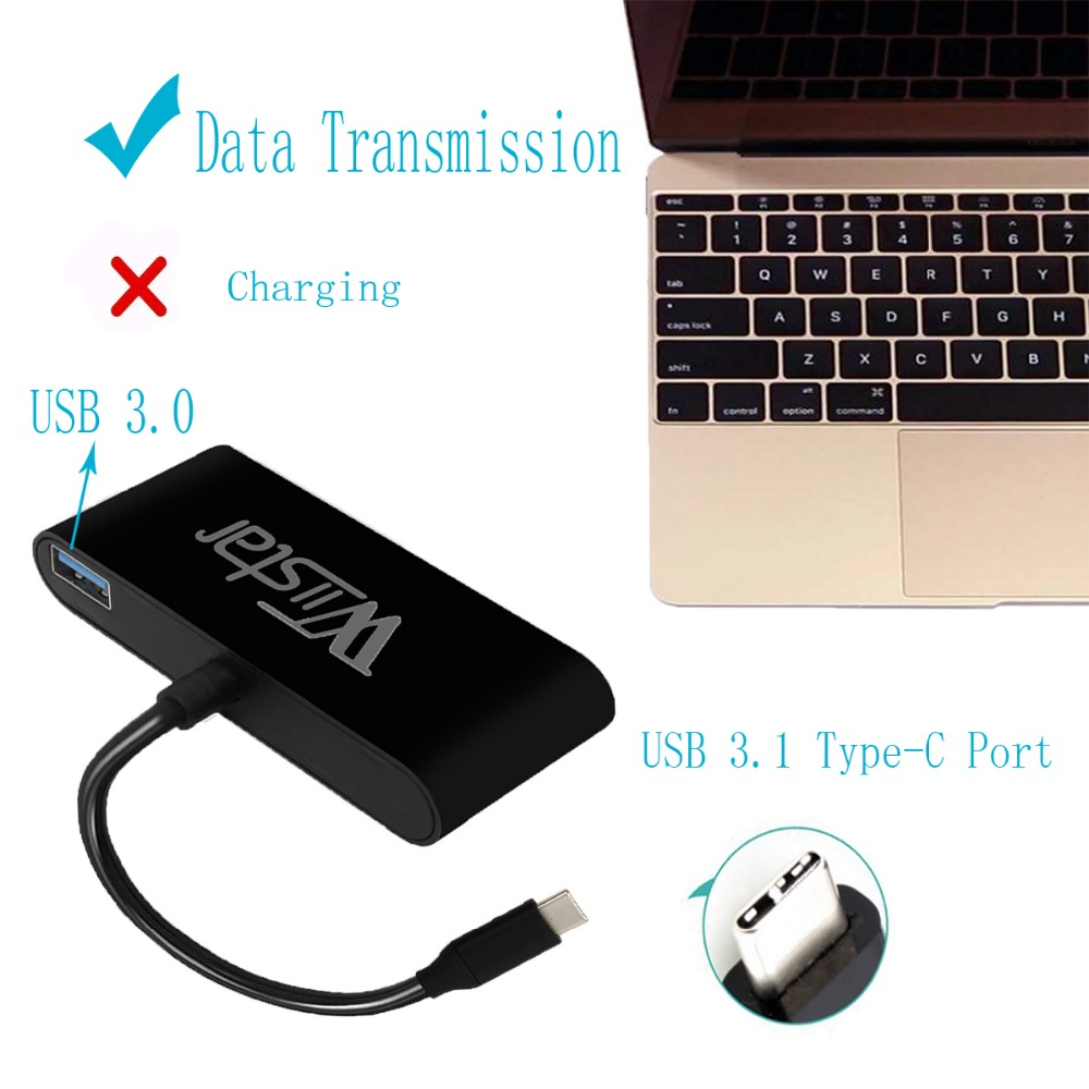 TYPT C to HDMI VGA converter adapter  typec USB3.0