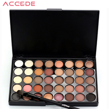 New Fashion 40 Earth Colors Matte Pigment Eyeshadow Palette Cosmetic Makeup Set Eye Shadow For Women Lady Miss