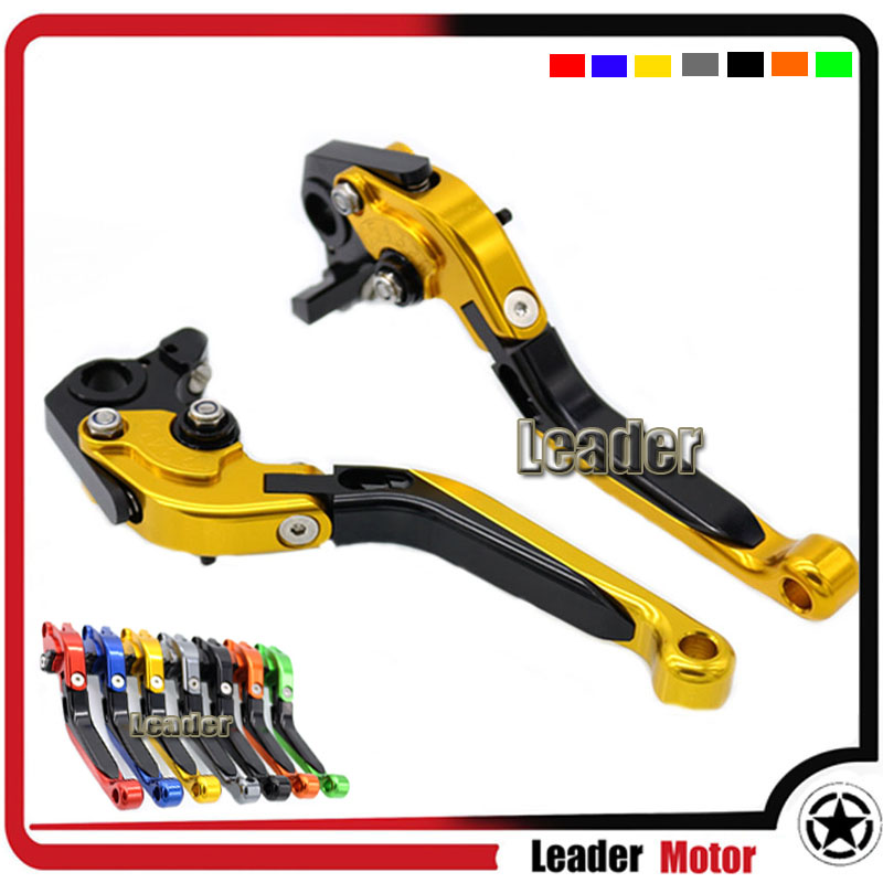 For DUCATI 400 Monster 620 Monster 1620 MTS 695 Monster ST4S 748 900SS Motorcycle Folding Extendable Brake Clutch Levers Gold<br><br>Aliexpress