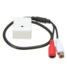 High Sensitive Audio Mic Microphone For CCTV Security IP Camera Pick up Device 6-12V(China)