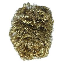 Wholesale New 8cm Diameter Copper Spiral Scourer Cleaning Ball for Machine Tool(China)