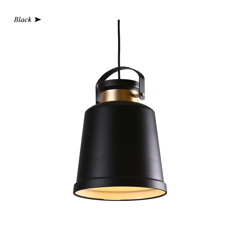Lighting Vintage Pendant  LED E27 Lamp Holder White/ Black /Yellow Lighting<br><br>Aliexpress