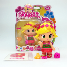 2016 Newest Fashion dolls Pinypon scented doll for girl doll toys Christmas Gift