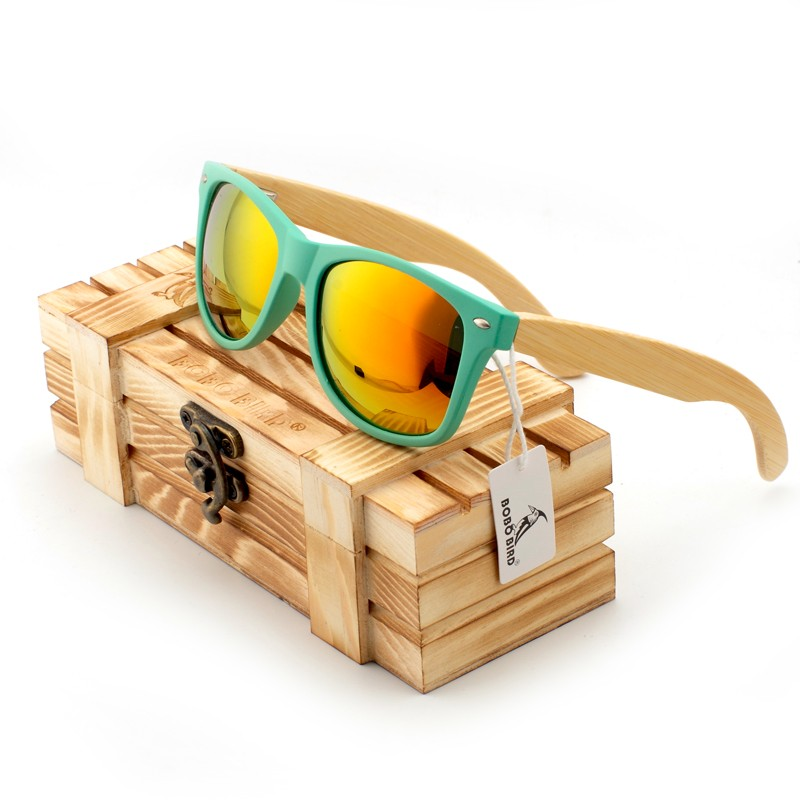 Fashion Polarized Eyewear Items Sunglasses Bamboo Wooden Holders Sunglasses for Driving Men and Women with Wooden Gift Box<br><br>Aliexpress