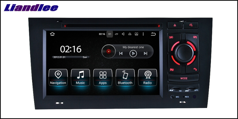 Liandlee Car Multimedia Player NAVI For Audi A6 C5 4B 1997~2004 Car Touch Screen System Radio TV DVD Stereo GPS Navigation 11