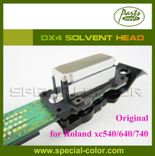 New original DX4 solvent printhead for roland XJ740/640/540 printer (Get 2pcs DX4 Small Damper as gift)(China)