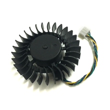 Computer PC 4wire 4Pin VGA Cooler Fan For XFX 9800GT Colorful 7800GTX Graphics Video Card Cooling(China)
