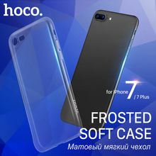Buy HOCO Soft Frosted Case iPhone 7 & 7 PLUS Ultrathin Protective Original Cover Thin Shell Apple iPhone7 + Matte Protection for $4.51 in AliExpress store