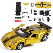 Mustang GT 1:32 Scale Assembly Model Car Alloy Metal Diecast Car Toys High Quality Collection Baby Toys Gift FreeShipping