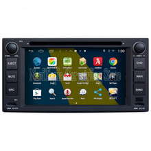 NaviTopia Brand New 800*480 Quad Core 16G 6.2'' Pure Android 4.4.4 Car PC for Toyota Corolla Car DVD Multimedia Player(China)