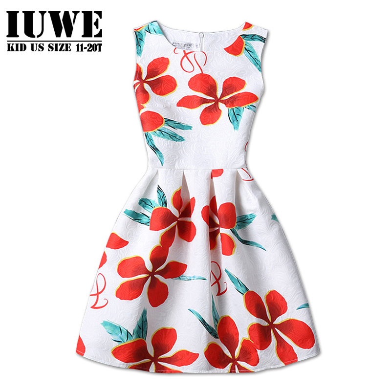 Summer Dress for Girls of 12 Years Childrens Princess Dresses with O-Neck Collar for Girls for Party Elegant Dress on a Girl 14<br><br>Aliexpress