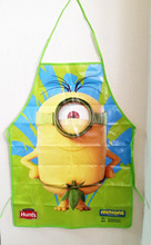 wholesale leaf Despicable Me2 Minions funny novelty kids children kitchen cook  Waterproof Aprons Painting cleaning Apron gift