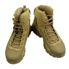 Military Tactical Boots Desert Combat  Army Hiking Travel Boots Leather Autumn Ankle Male Boots Plus Size 39-45