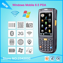 Free Shipping Portable Pos Mobile  Terminal Data Collector Windows Mobile 6.5 Operation System PDA  With 3G 2D Barcode Scanner