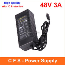 AC DC 48V 3A Power Supply Adpater 144W DC48V3A Charger LED Transformer For LED Strip Light CCTV Camera 1pcs