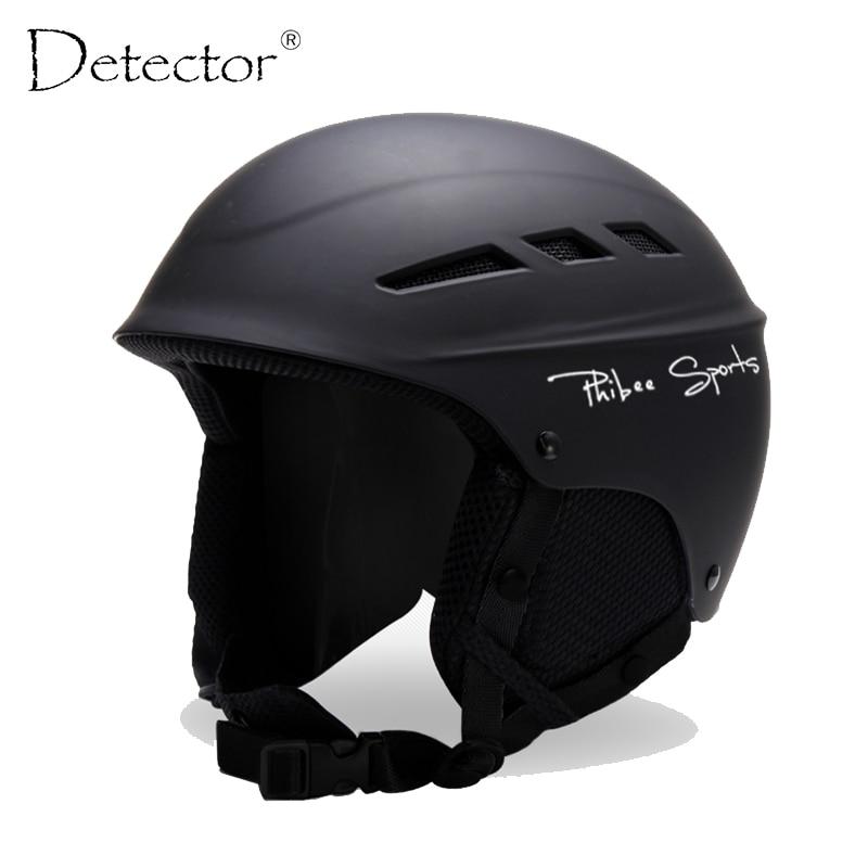 Detector 2017 Ski Helmet PC+EPS Ultralight High Quality Snowboard Helmet Men Women Children Skating Skateboard Skiing Helmet<br><br>Aliexpress