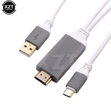 2 Meters Type C to UHD Cable USB 3.1 TO HDMI HDTV Cable for Smart Power Charge For Samsung S8 for LG G5/6 for Letv 1/1S/1Pro(China)