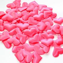 wedding throwing petals weeding decor 100 Pcs of sponge heart shaped confetti(China)
