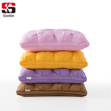 Sookie Sleeping Pillow 100% Cotton Fabric Bedding Pillow Slow Rebound Neck Health Memory Pillows Light Throw Pillow Home Textile(China)