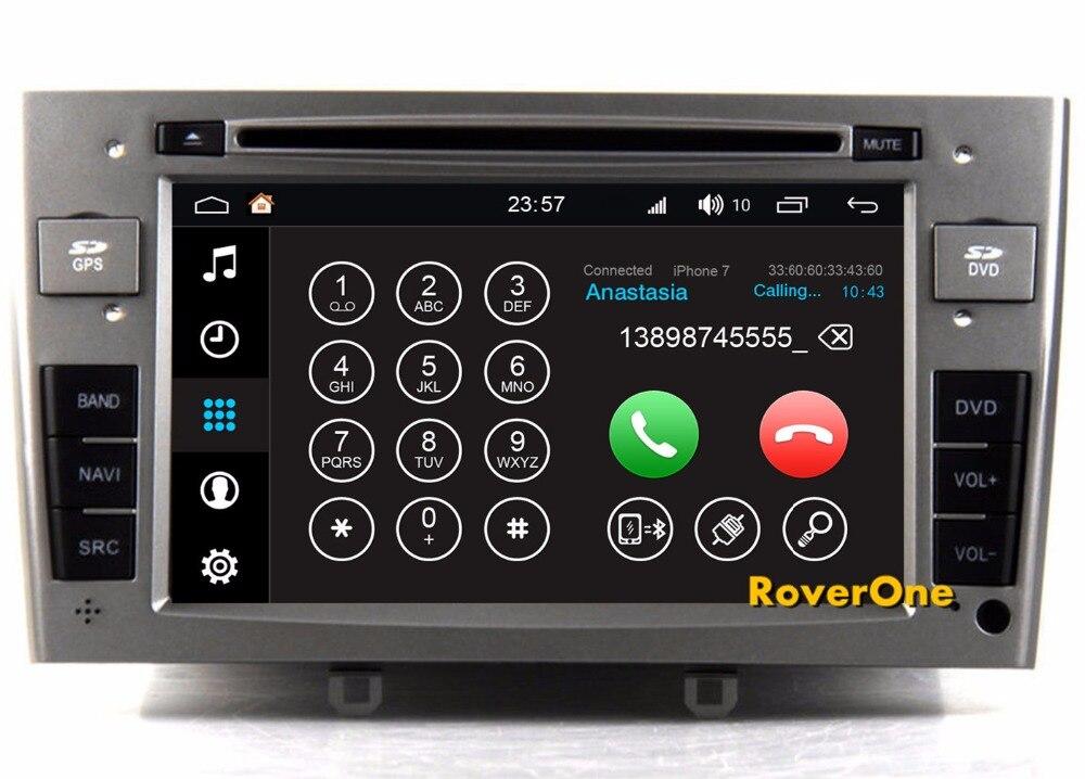 AUTORADIO ANDROID 8.0 OctaCore 4GB-32GB Peugeot 207 307 308 Citroen C2 C3