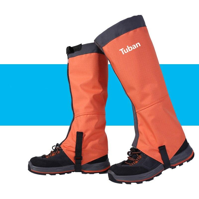 1-Pairs-Waterproof-Leggings-Unisex-Outdoor-Gaiter-Leg-Covers-Camping-Hiking-Ski-Desert-Snow-Climbing-Shoes