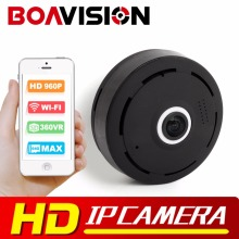 1.3MP IP Camera WI-FI HD VR MINI 960P Camera Fisheye 360 Degree  P2P APP Surveillance Wireless Security Camera V380 VIEW