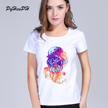 Buy Tea Shirt Graphic tees Women Clothing 2017 Summer Funny Jelly Space t shirts Harajuku Tumblr Hipster Ladies T-shirt for $7.19 in AliExpress store
