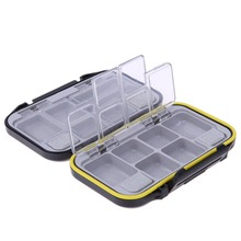 12 Compartments Waterproof Fishing Tackle Storage Box Eco-Friendly Plastic Fishing Lure Bait Tackle Durable Fish Pocket box BAG
