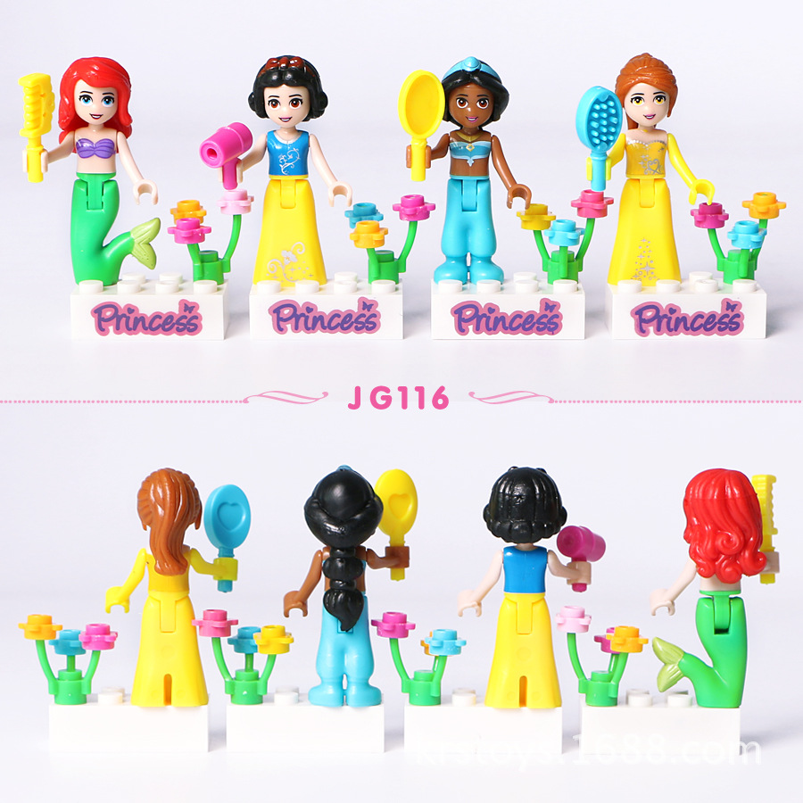 8Pcs-Fairy-Tale-Princess-Girl-Model-Building-Doll-Figures-Bricks-Blocks-Kid-Friends-Children-Toys-Compatible (1)