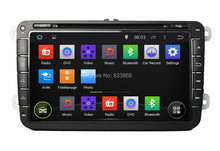 Quad Core 1024*600 HD 2 din 8 inch Android 5.1 car dvd player gps Volkswagen VW Skoda POLO PASSAT B6 CC TIGUAN GOLF Fabia Seat - safetyleader Car stereo Store store