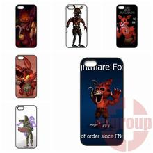 Cute Foxy Five nights at freddy For Apple iPhone 4 4S 5 5C SE 6 6S Plus 4.7 5.5 iPod Touch 4 5 6 Unique photos print Diy Case