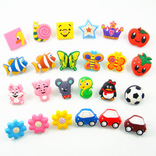 Anti-collision Soft Gum Children Kids Bedroom Furniture Knobs Cartoon Cabinet  Door Dresser Drawer Pulls Wardrobe Cupboard Knob