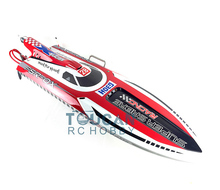 "Buy G30H ARTR 54"" 30CC Engine Gasoline Fiber Glass RC Racing Boat Propeller Rudder Shaft Red for $669.99 in AliExpress store"