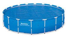 400micron Solar cover Bestway 18' Round Above Ground Swimming Pool Solar Heat Cover | 58173