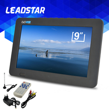 LEADSTAR TV HD Digital And Analog Televisions Receiver LED Television Car TV Support TF Card USB Audio Video Play DVB-T2(China)