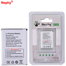 2017 Nephy Original Battery BST-37 For Sony Ericsson W800i W810i K600 K610i D750i K200i K220i T280i W700 V600 K750C W710C 900mAh(China)