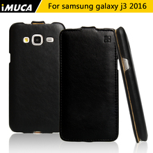 For Samsung Galaxy J3 2016 case Galaxy J3 cover luxury flip leather case For Samsung Galaxy J3 2016 J320 J320F iMUCA Phone Cases