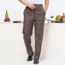 New Arrival Chef Uniform Restaurant Pants Chef Trouser Chef Pants Elastic Waist Food Service Pants Mens Work Wear