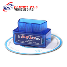 Superior ELM 327 v1.5 Bluetooth on Android /Torque for cars after 1996 elm327 Car Diagnostic Tool OBD II Auto Code Reader