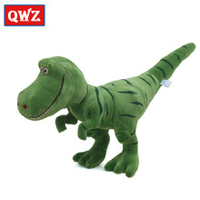 QWZ 100cm Large Dinosaur Plush Toys Hobbies Kawaii Tyrannosaurus Rex Plush Dolls & Stuffed Toys For Children Boys Baby Gifts(China)