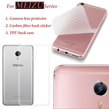For Meizu M5s/M3s/M3/M5/Note/Mini Camera Protector Carbon Fiber Back Sticker Lens Protection Tempered Glass Cover Film Guard