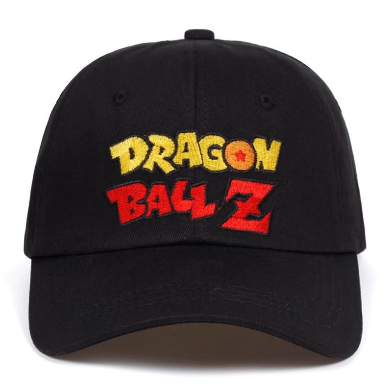 Letter Dragon Ball Z dad hat Cotton Baseball Cap For Men Women Adjustable Hip Hop Snapback golf Cap hats Bone Garros Casquette 1