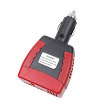 Newest Car DC 12V to AC 220V Power Inverter Adapter with Cigarette Lighter and USB Charger Port For Laptop Phone