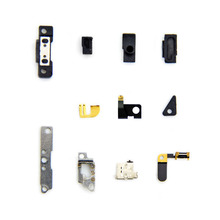 3 pcs/lot complete replacement small parts set clips plates brackets Internal Bracket Spring Spacer Repair part For iPhone 4S