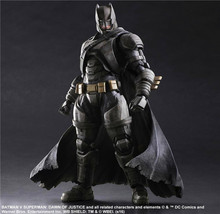 Play Arts DC Comics Batman VS Superman Dawn of Justice Armored Batman 25cm Model Anime PVC Action Figure Kids Gift(China)