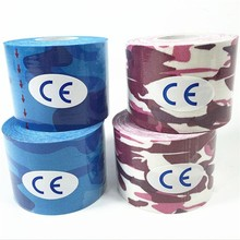 New 5cm*5m Elasti Cotton Roll Adhesive Kinesio Tape Sports Injury Muscle Strain Protection Tapes First Aid Bandage Support