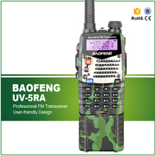 Camouflage/Camo Color BaoFeng UV-5RA Dual Band Walkie Talkie UV5RA Long Battery Radio UV 5RA