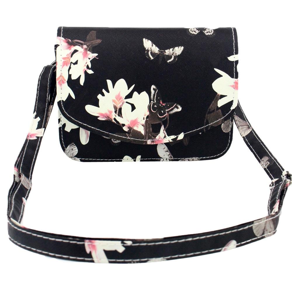 2016 PU Floral Leather Women Shoulder Bag Casual  Messenger Bags designer brand Vintage Fashion Womens Crossbody Bag<br><br>Aliexpress